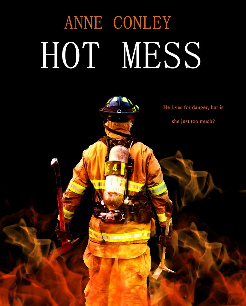 Hot Mess by Anne Conley Cover