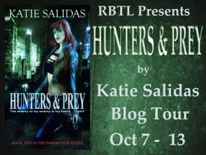 Hunters & Prey Blog Tour Banner