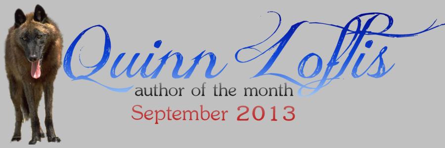 Quinn Loftis Author of Month