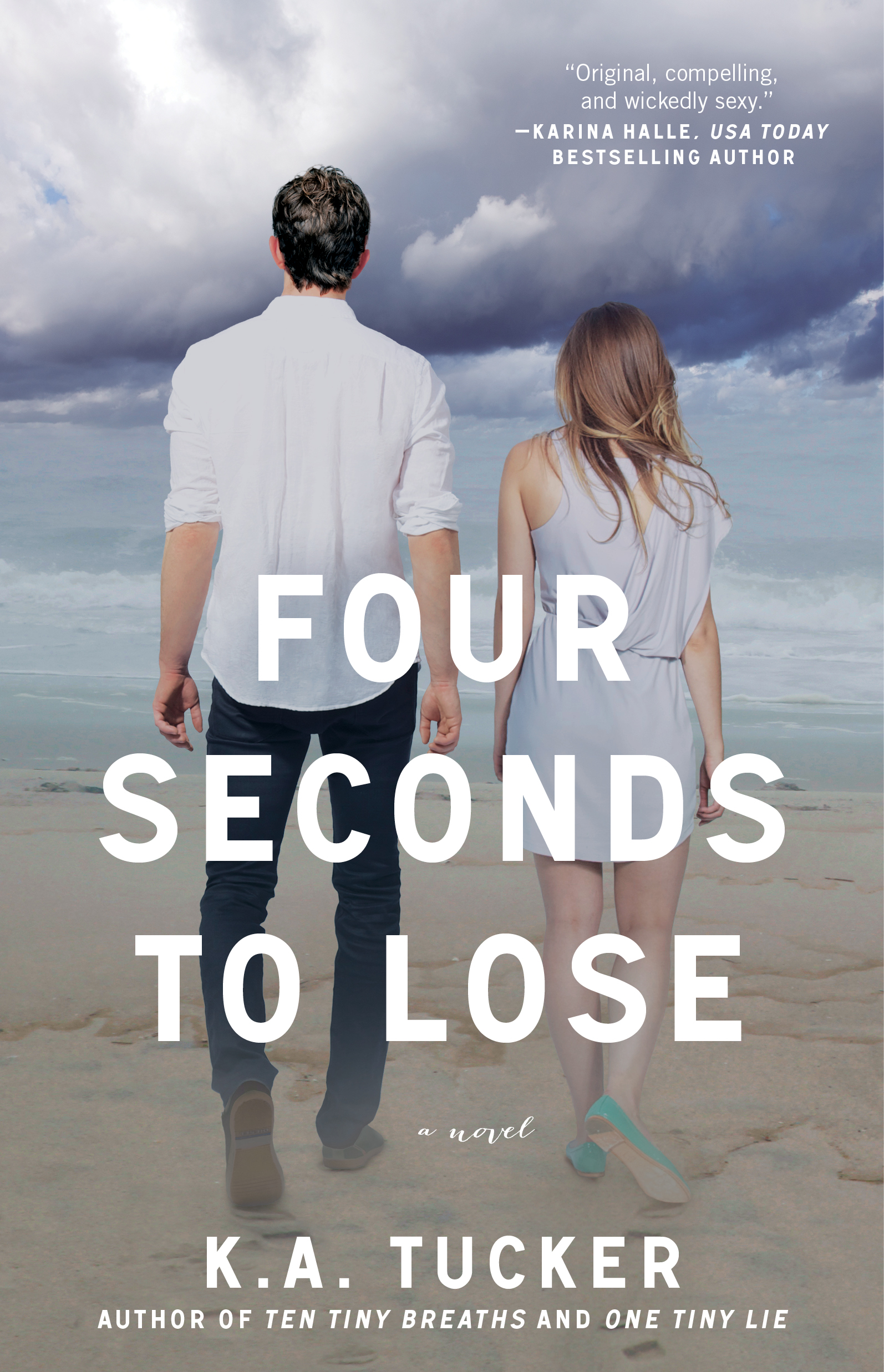 K.A. Tucker's FOUR SECONDS TO LOSE Release Day & Giveaway