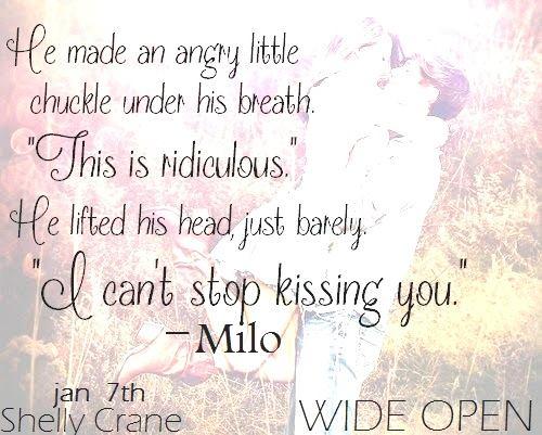 Wide Open by Shelly Crane