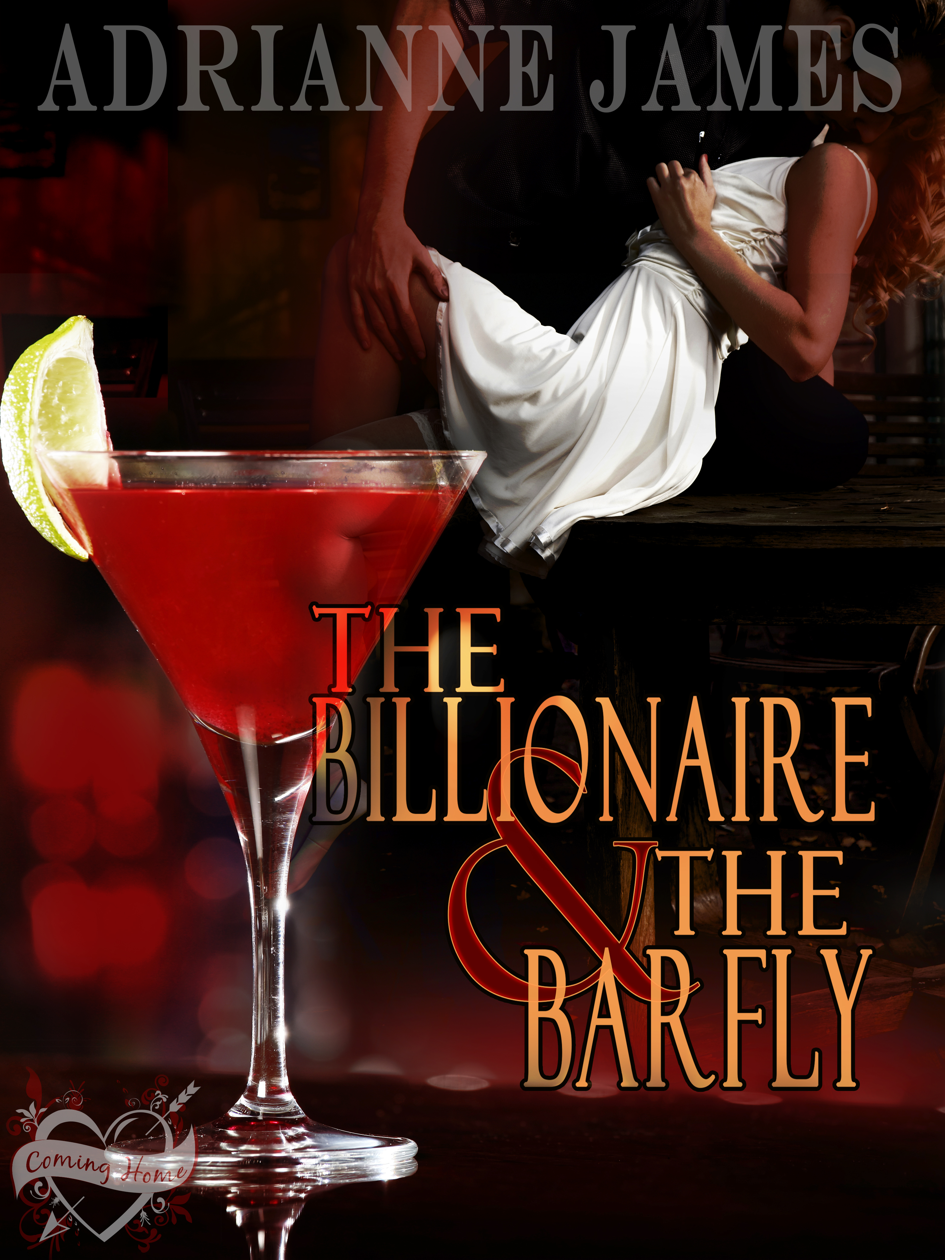 The Billionaire & The Barfly by Adrianne James Cover Reveal, Review, & Giveaway