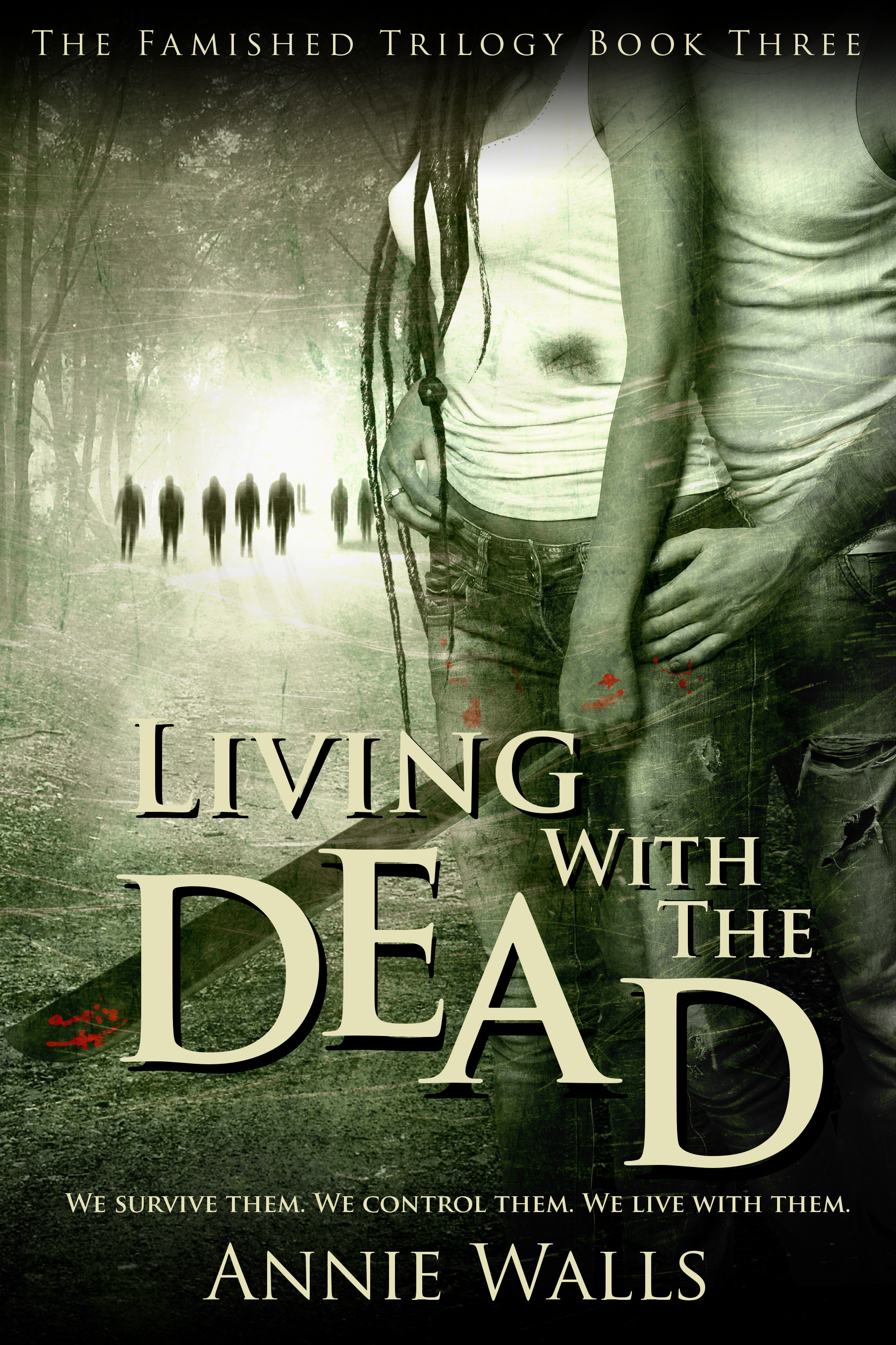 Living with the Dead by Annie Walls – Cover Revealed!