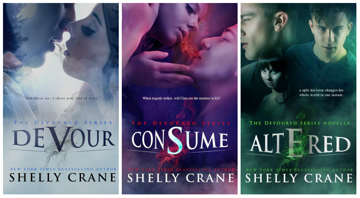 Shelly Crane's Devoured Series Cover Reveal & Book Blast