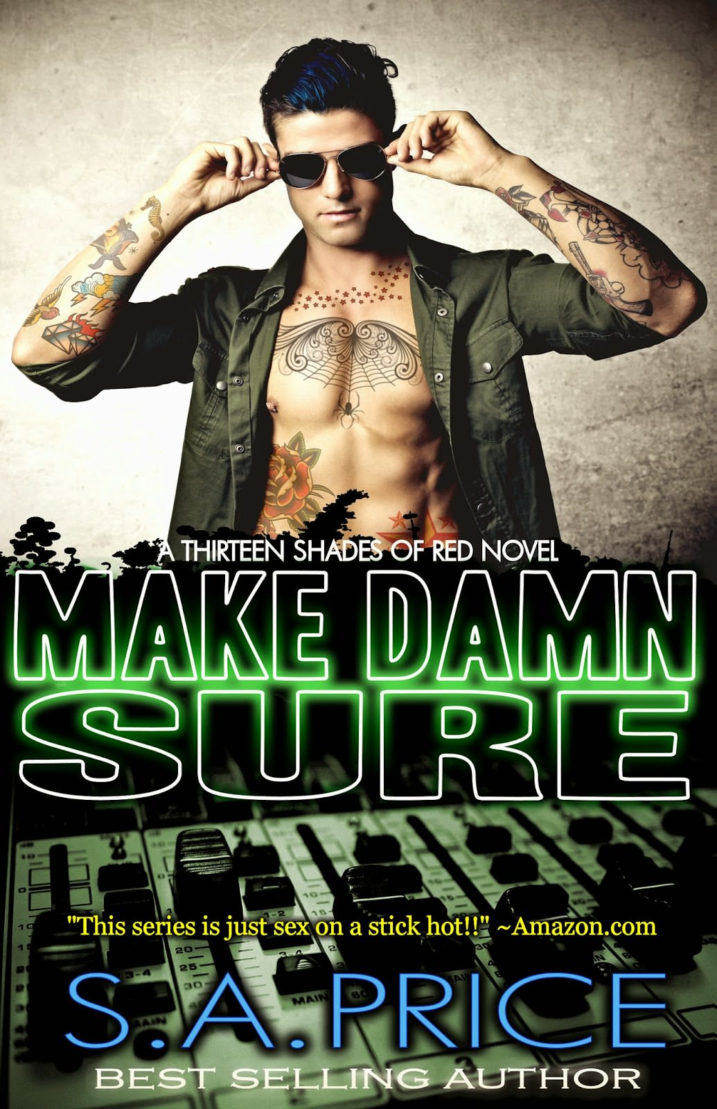 Make Damn Sure by S.A. Price cover reveal