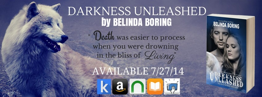 Darkness Unleashed by Belinda Boring – Release Day