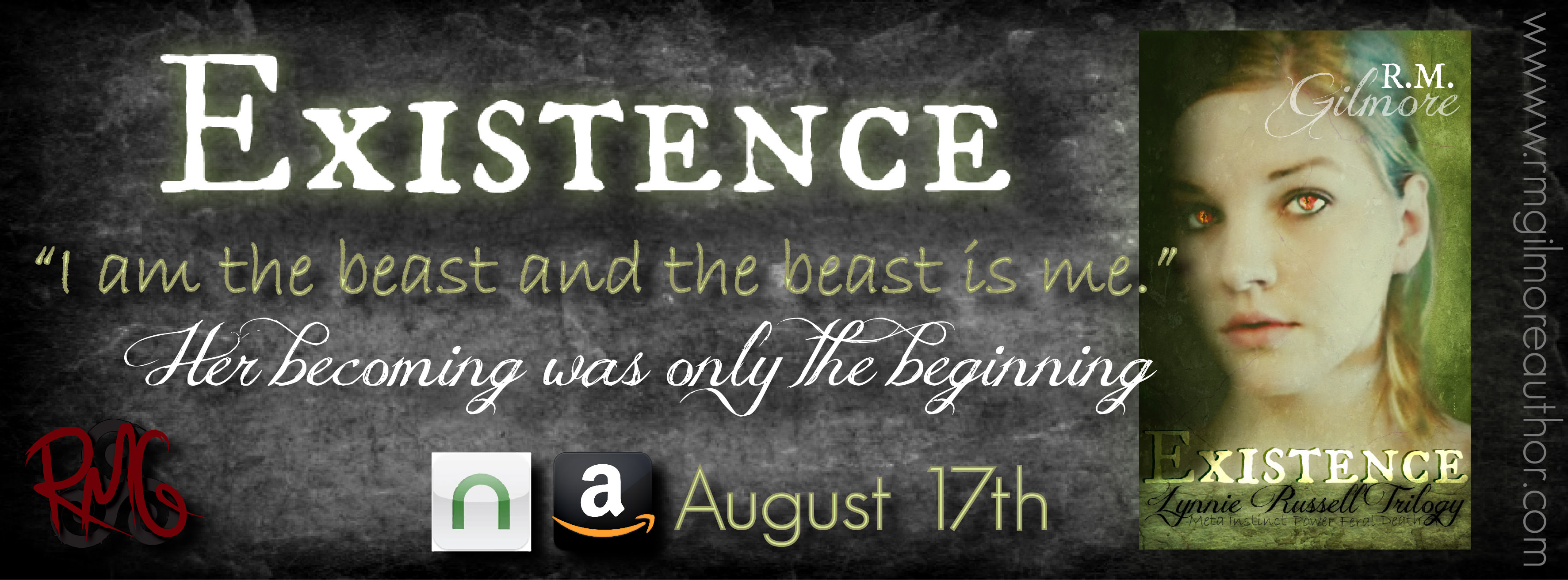 Release Day & Giveaway: Existence by R.M. Gilmore