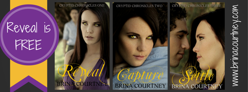 Brina Courtney's Reveal on Sale & New Covers