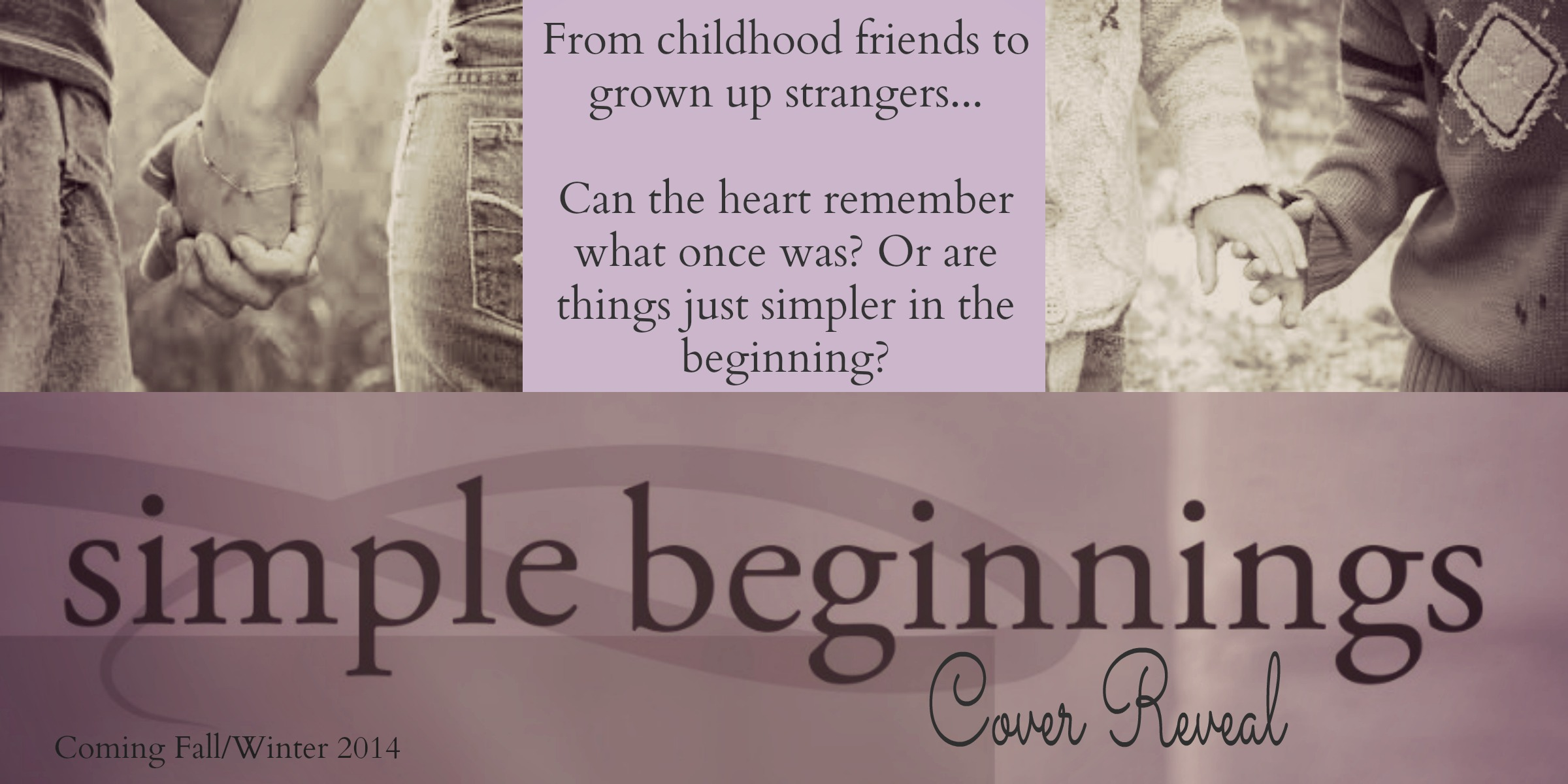 Cover Reveal: Simple Beginnings