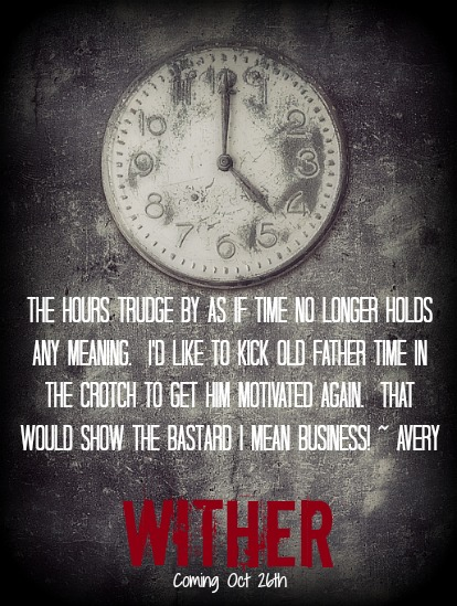 Grunge background with broken clock