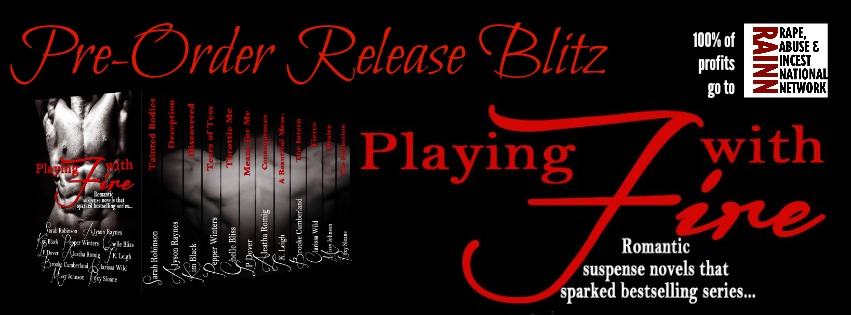 Release Day: Playing With Fire