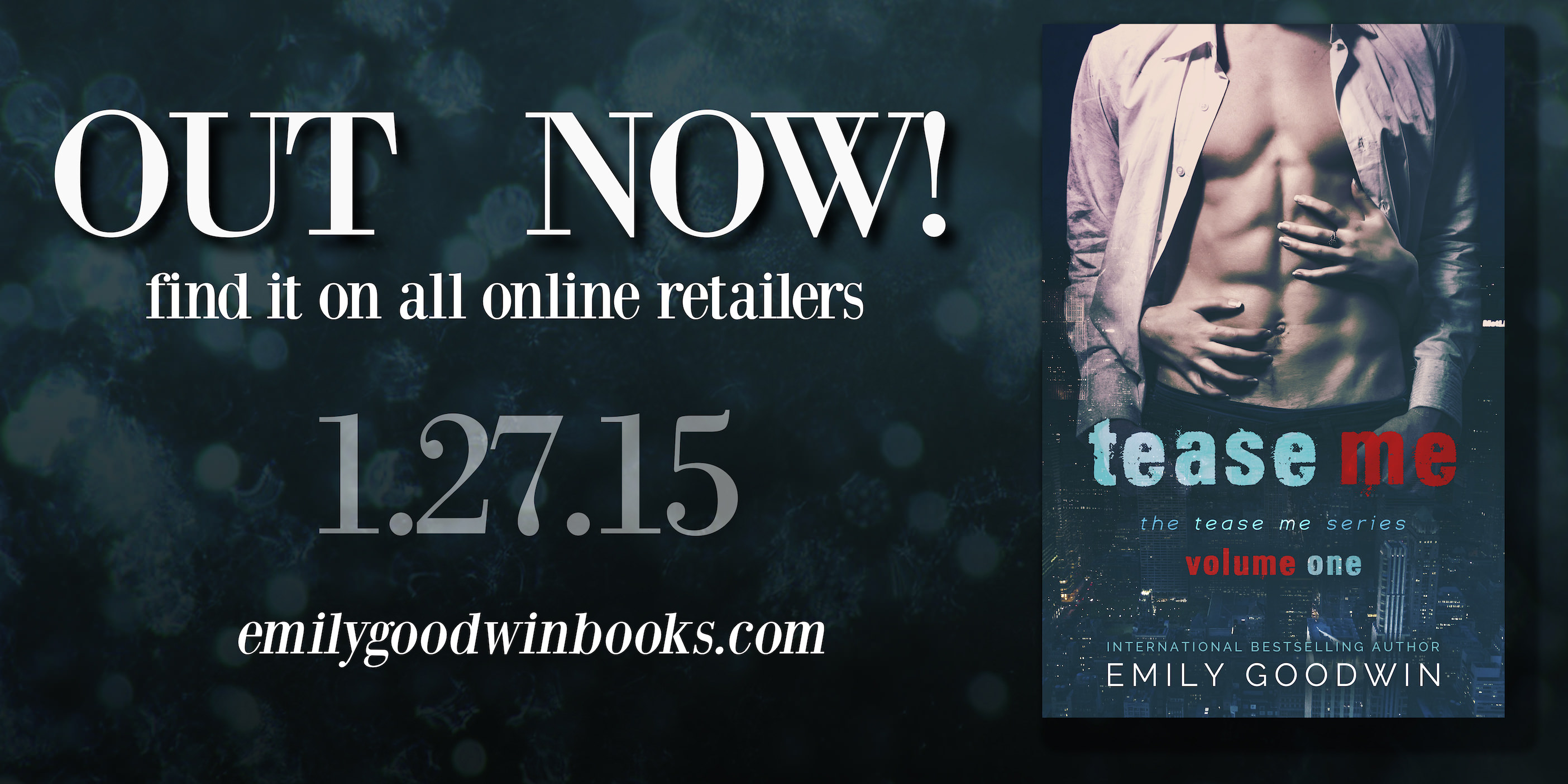 Tease Me by Emily Goodwin – Release Day!