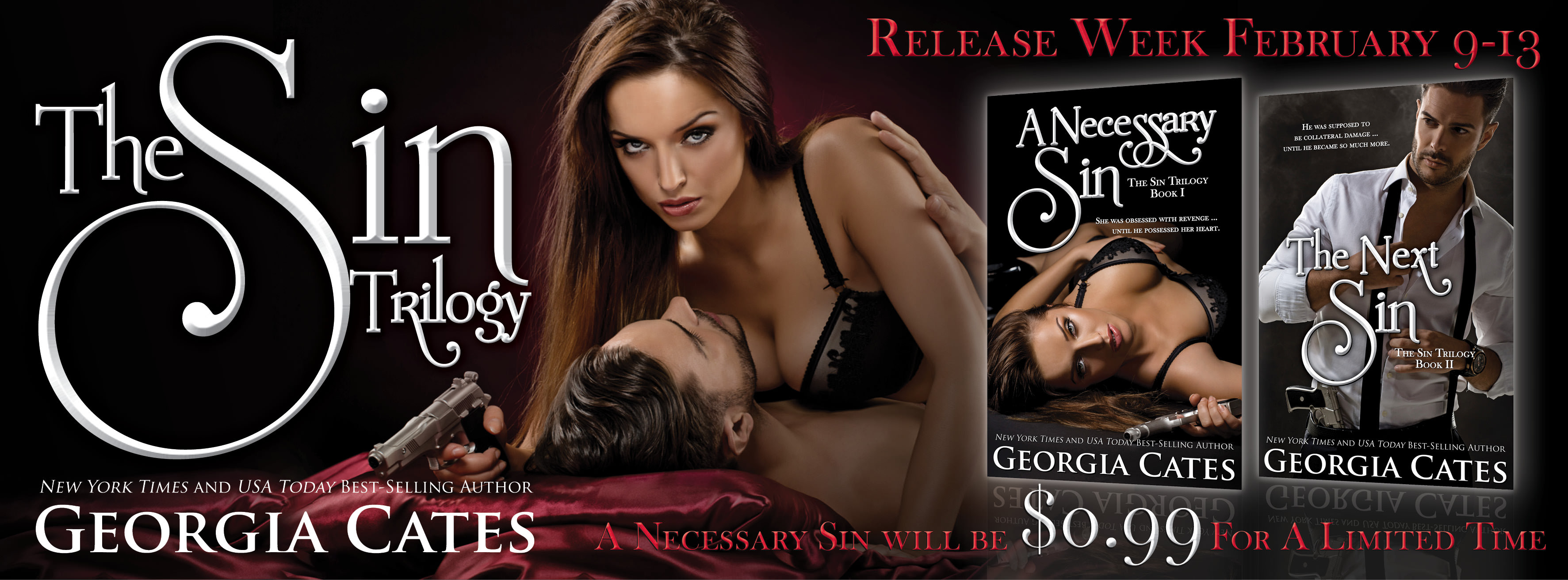 The Next Sin by Georgia Cates Release Day & Giveaway
