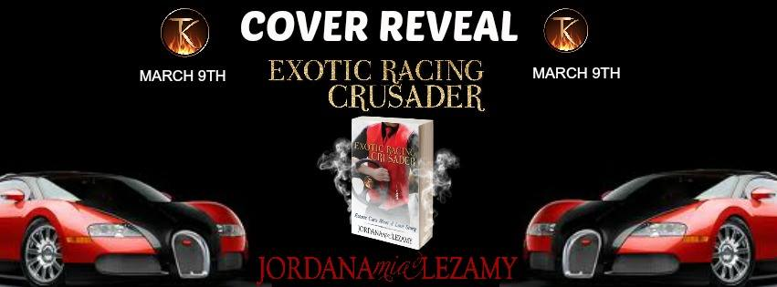Cover Reveal: Exotic Racing Crusader