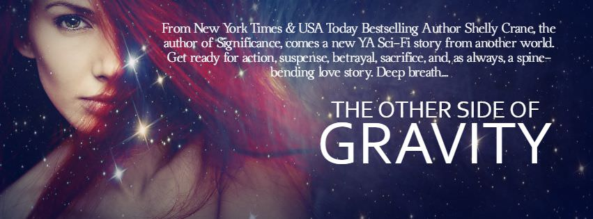 Cover Revealed: The Other Side of Gravity by Shelly Crane