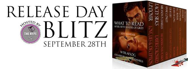 Release Day for What to Read After Fifty Shades Sexy Suspense Anthology