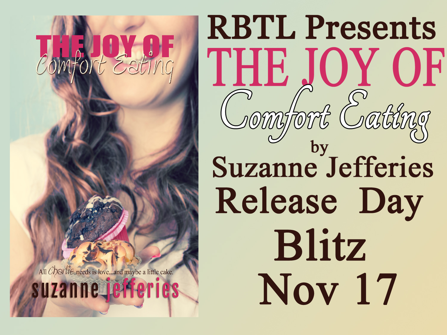 Release Day: The Joy of Comfort Eating