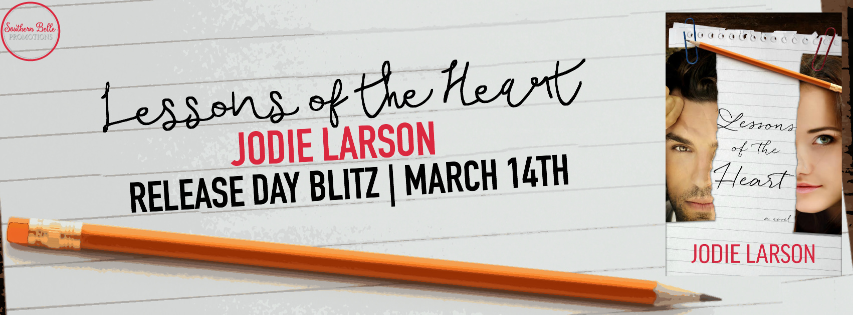 Lessons of the Heart by Jodie Larson – Release Day Blitz