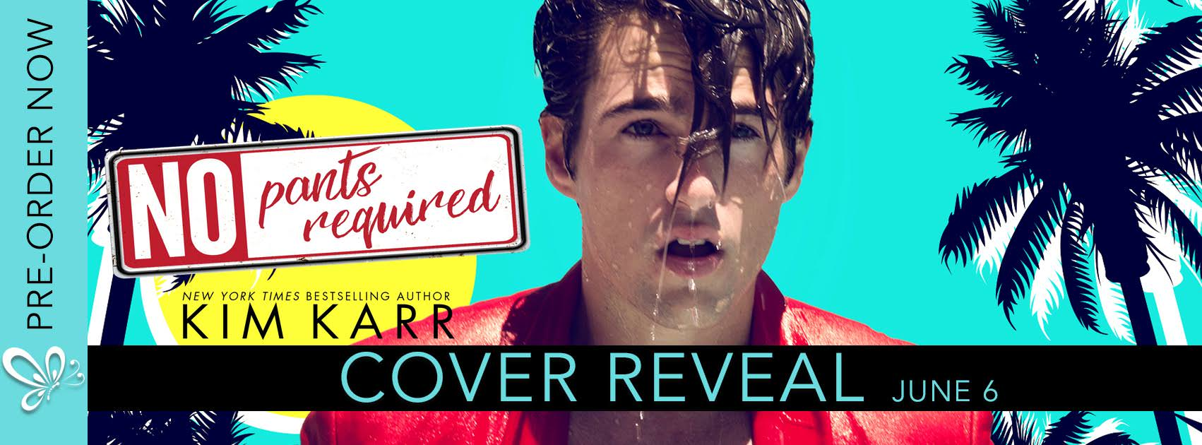 Cover Reveal:  No Pants Required