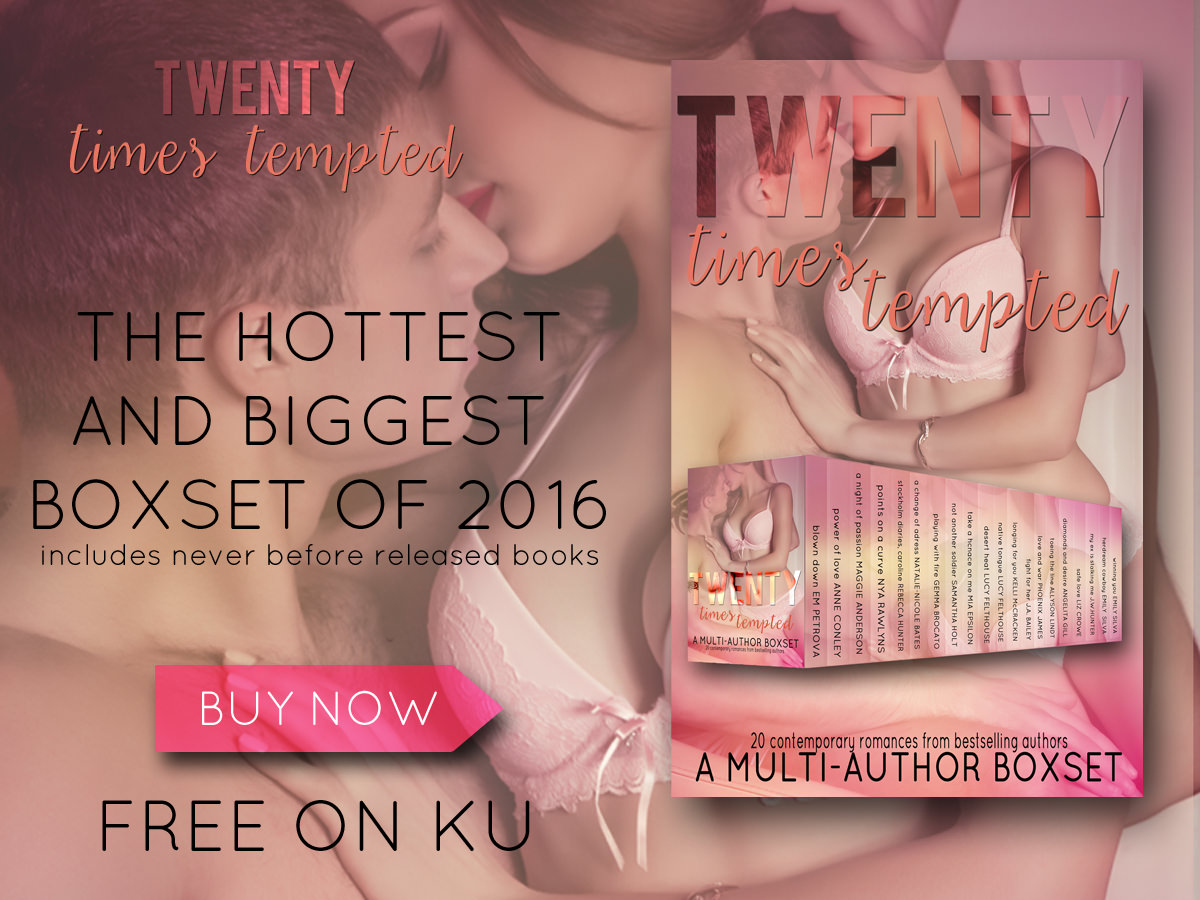 Twenty Times Tempted – Release & Giveaway