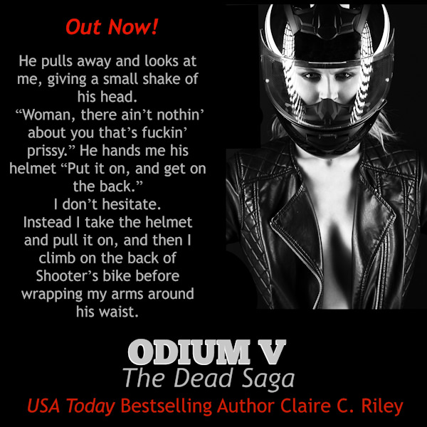 Release Day – Odium V The Dead Saga By Claire C. Riley