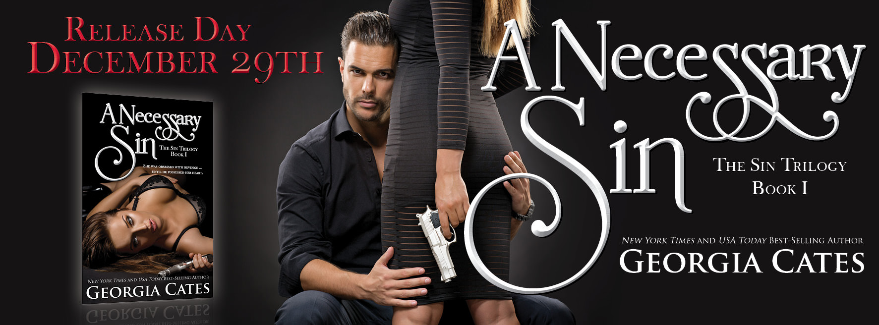 A Necessary Sin by Georgia Cates – Release Day
