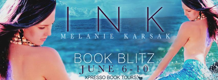 Ink: A Mermaid Romance by Melanie Karsak – Release Day – Excerpt – Giveaway