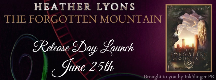 Heather Lyons' The Forgotten Mountain – Release Day
