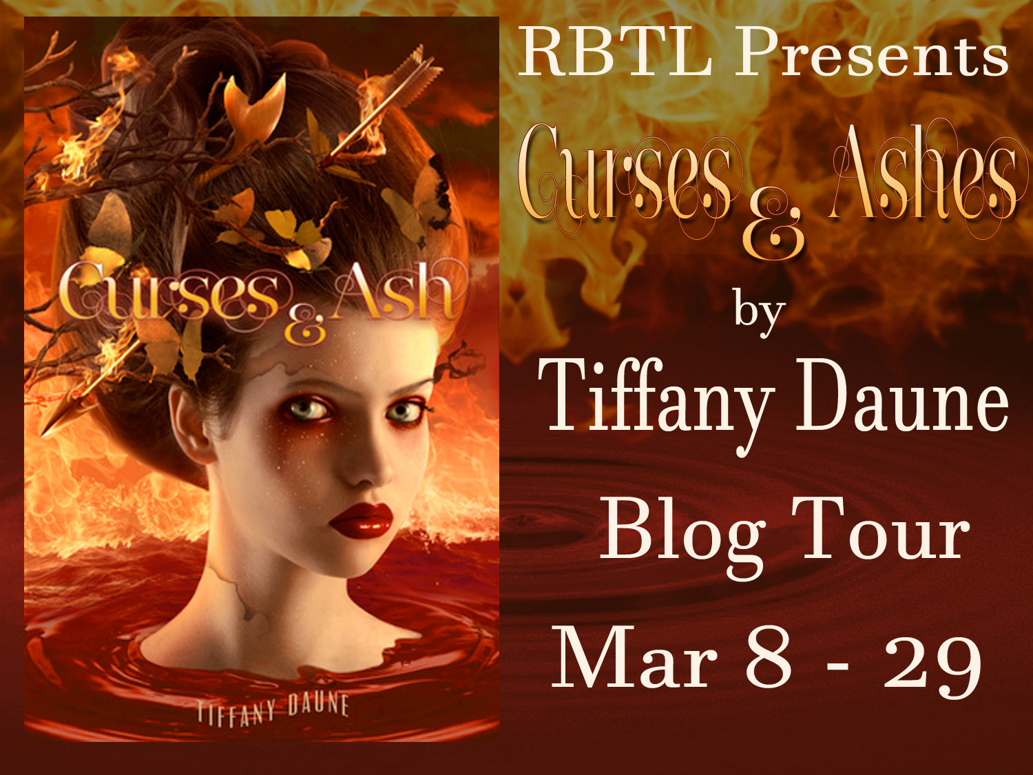 Curses and Ash by Tiffany Daune Chapter Stop